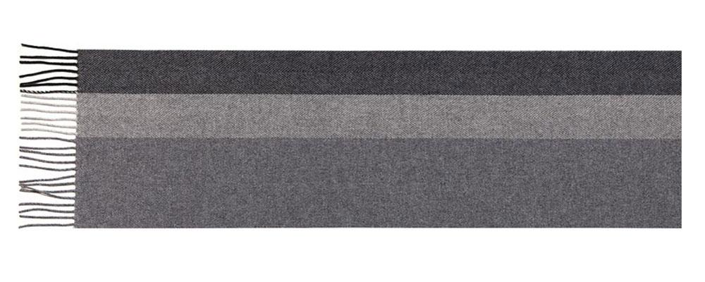 ШарфLU42-277Мужской шарф Labbra, изготовленный из шерсти с добавлением кашемира, мягкий и приятный на ощупь. Изделие оформлено широкими полосками. По короткому краю модель оформлена тонкими кисточками, скрученными в жгутики.