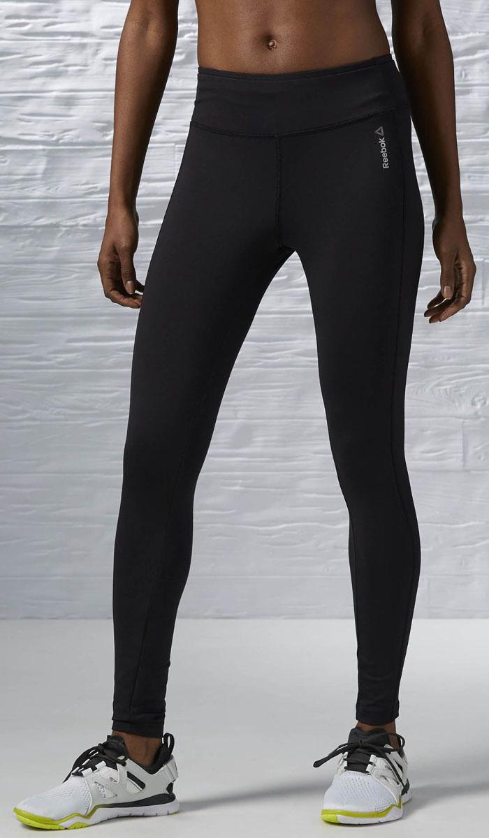 AJ3476Женские спортивные брюки WOR PP TIGHT имеют облегающий крой, обеспечивающий простоту и легкость движений Эластичный пояс регулирует высоту посадки
