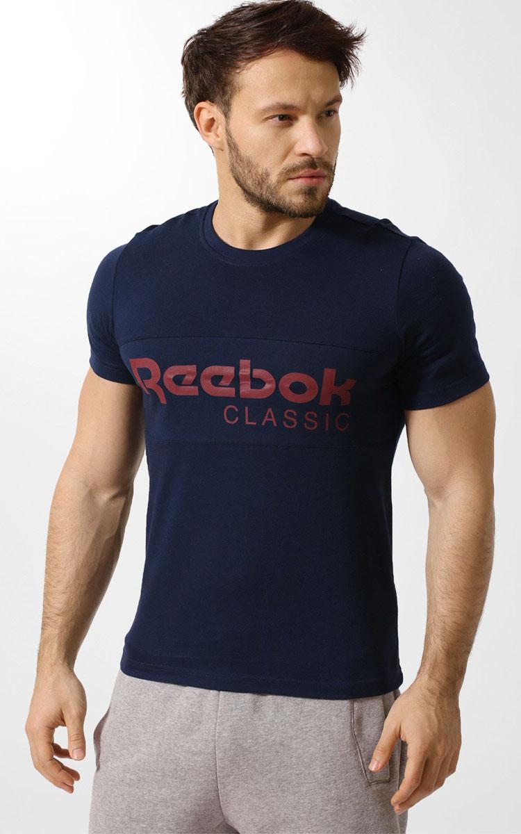 ФутболкаBK3839Классика на высоте Прямиком из прошлого, эта винтажная футболка не сдает стильных позиций Вставка с классическим логотипом спереди подчеркивает преемственность поколений, а круглый ворот обеспечивает привычный комфорт Облегающий крой отлично подходит для интенсивных тренировок и придает стилю эффектности Стильная вставка с принтом в виде логотипа Reebok спереди Классический круглый ворот