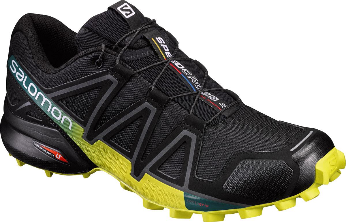 L39239800Четвертое поколение легендарных беговых кроссовок воплощает новые понятия об элегантности. Легкие, амортизированные и агрессивно цепляющиеся за мягкую землю Speedcross 4 подарят вам еще больше удовольствия