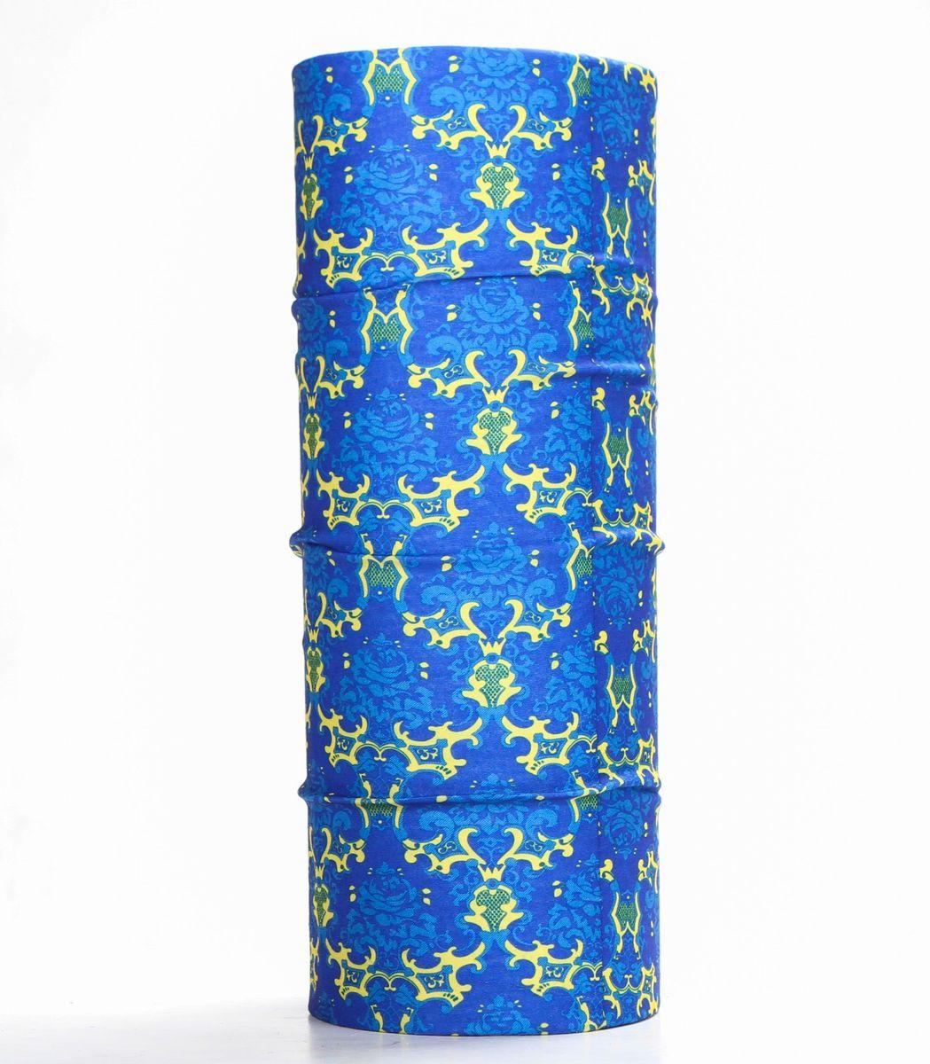 Шарф15-29Мультишарфы можно встретить под разными названиями: мультишарф, мультибандана, платок трансформер, Baff, но вне зависимости от того как Вы назовете этот аксессуар, его уникальные возможности останутся неизменными. Вы с легкостью и удобством можете одеть этот мультишарф на голову и шею 12 различными способами. В сильные морозы, пронизывающий ветер или пыльную бурю - с мультишарфом Вы будуте готовы к любым капризам природы Авторская работа.