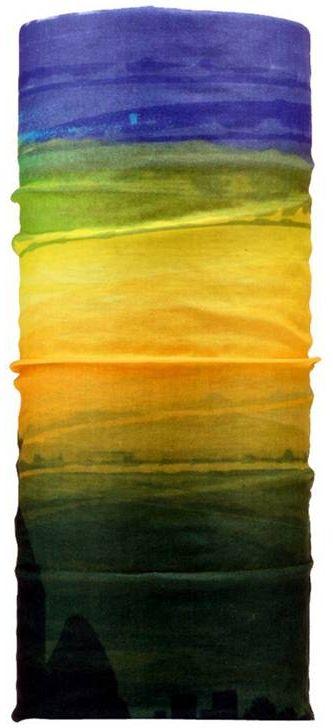 Шарф17-13Мультишарфы можно встретить под разными названиями: мультишарф, мультибандана, платок трансформер, Baff, но вне зависимости от того как Вы назовете этот аксессуар, его уникальные возможности останутся неизменными. Вы с легкостью и удобством можете одеть этот мультишарф на голову и шею 12 различными способами. В сильные морозы, пронизывающий ветер или пыльную бурю - с мультишарфом Вы будуте готовы к любым капризам природы Авторская работа.