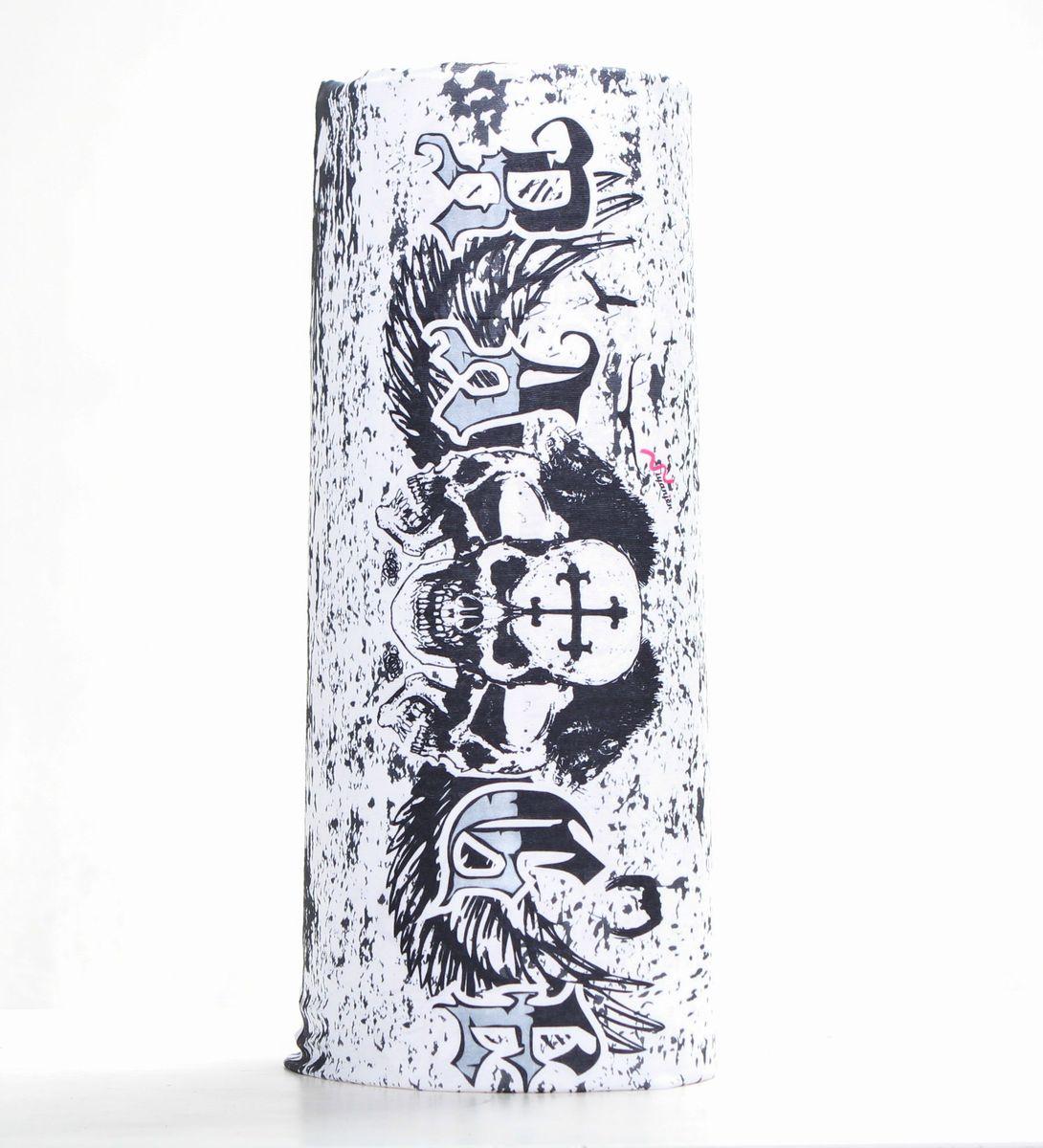 Шарф15-2Мультишарфы можно встретить под разными названиями: мультишарф, мультибандана, платок трансформер, Baff, но вне зависимости от того как Вы назовете этот аксессуар, его уникальные возможности останутся неизменными. Вы с легкостью и удобством можете одеть этот мультишарф на голову и шею 12 различными способами. В сильные морозы, пронизывающий ветер или пыльную бурю - с мультишарфом Вы будуте готовы к любым капризам природы Авторская работа.