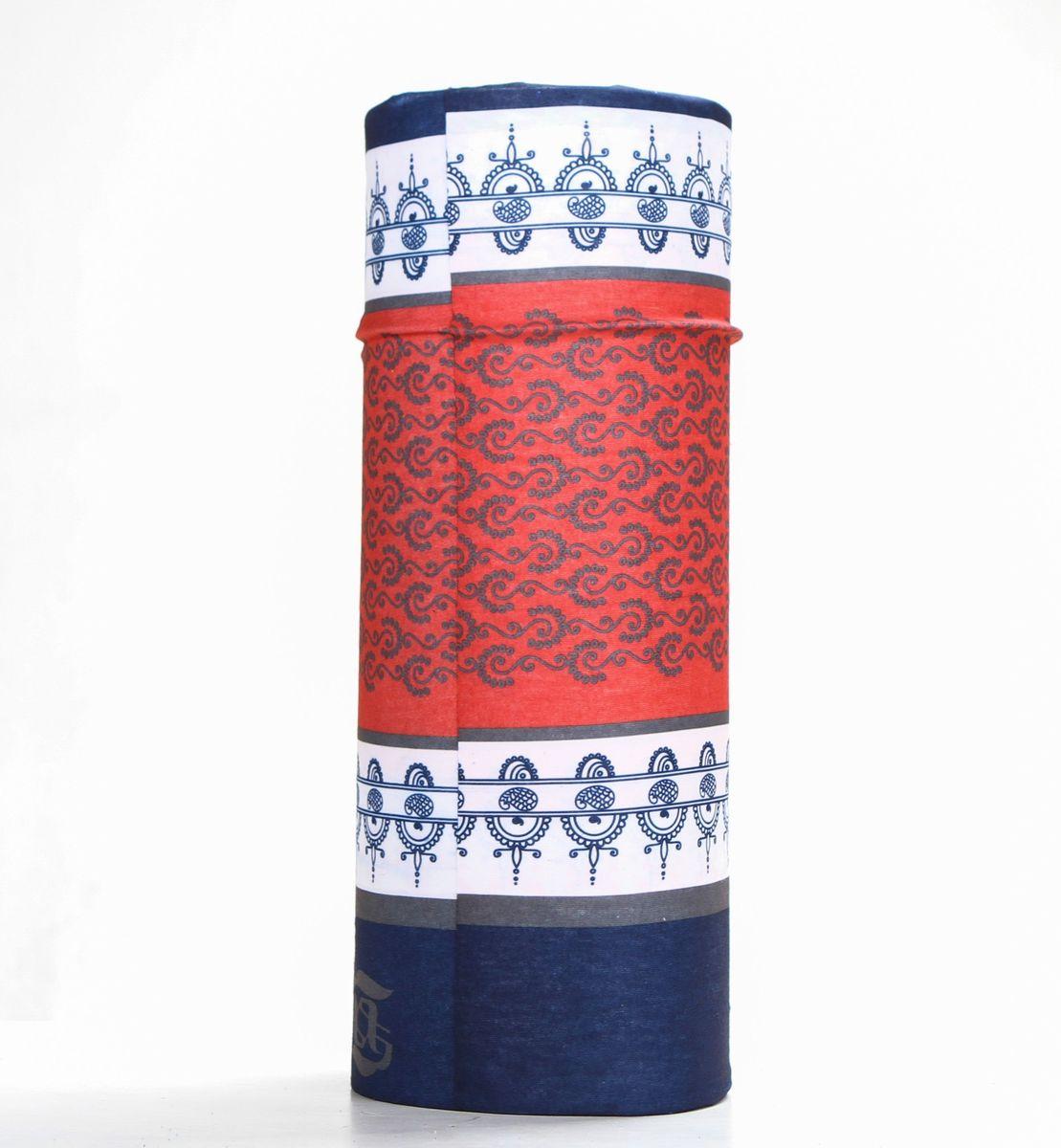 Шарф15-35Мультишарфы можно встретить под разными названиями: мультишарф, мультибандана, платок трансформер, Baff, но вне зависимости от того как Вы назовете этот аксессуар, его уникальные возможности останутся неизменными. Вы с легкостью и удобством можете одеть этот мультишарф на голову и шею 12 различными способами. В сильные морозы, пронизывающий ветер или пыльную бурю - с мультишарфом Вы будуте готовы к любым капризам природы Авторская работа.