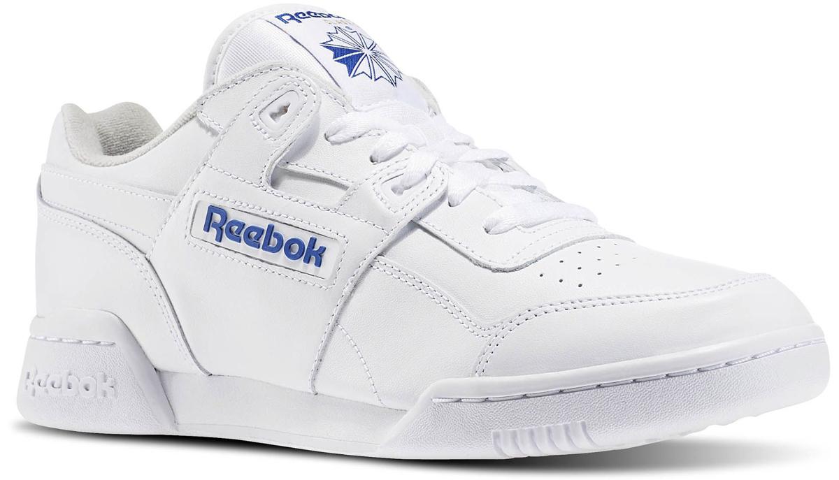 2759Кроссовки Reebok Classics из натуральной кожи белого цвета. Внутренняя отделка и стелька модели выполнены из текстиля. Детали: функциональная шнуровка, подошва из резины.