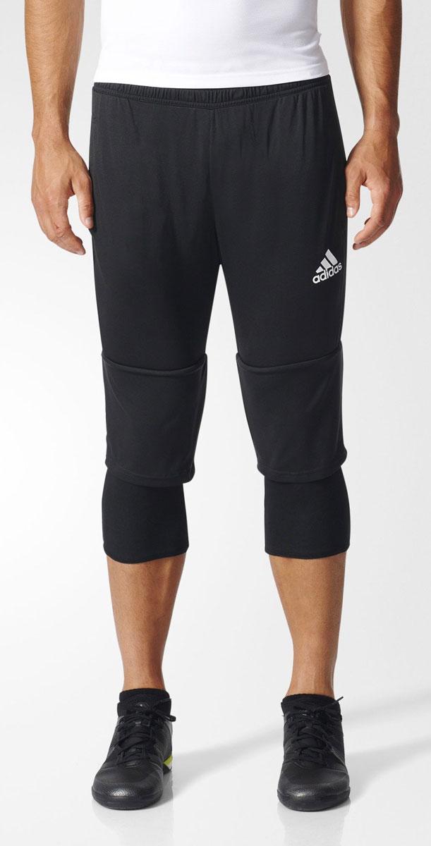 Брюки спортивныеAY2879Тренируйся на результат в этих спортивных шортах adidas Tiro 17. Сшиты из эластичной ткани, которая обеспечивает полную свободу движений во время приседаний и выпадов. Легкая модель дополнена внутренними шортами для повышенного комфорта и карманами на молнии для хранения полезных мелочей. Эластичный пояс на регулируемых завязках-шнурках Особый крой для идеальной посадки во время приседаний Легкая эластичная ткань для комфорта и свободы движений