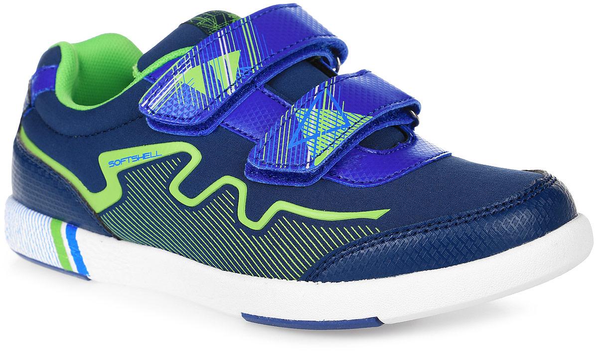 Кроссовки73298с-1Кроссовки от Kapika выполнены из текстиля, декорированного оригинальным принтом, с элементами из искусственной кожи. Подъем модели оформлен застежками-липучками. Подкладка изготовлена из текстиля. Стелька из легкого ЭВА-материала с поверхностью из кожи дополнена супинатором, сохраняет комфортный микроклимат обуви, эффективно поглощает влагу, неприятные запахи и вибрации, снижает ударную нагрузку. Облегченная подошва из ЭВА со вставками из ТЭП повышает износостойкость и сцепление с покрытием.