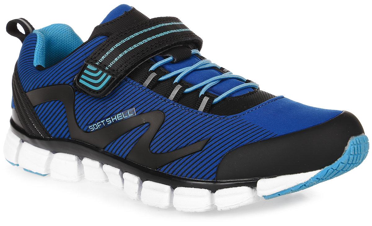 74214с-1Кроссовки от Kapika выполнены из текстиля с элементами из искусственной кожи и полимерного материала. Модель фиксируется на ноге при помощи эластичной шнуровки и застежки-липучки. Подкладка изготовлена из текстиля. Стелька из легкого ЭВА-материала с поверхностью из текстиля сохраняет комфортный микроклимат обуви, эффективно поглощает влагу, неприятные запахи и вибрации, снижает ударную нагрузку. Облегченная подошва из ЭВА со вставками из ТЭП и полимера повышает износостойкость и сцепление с покрытием.