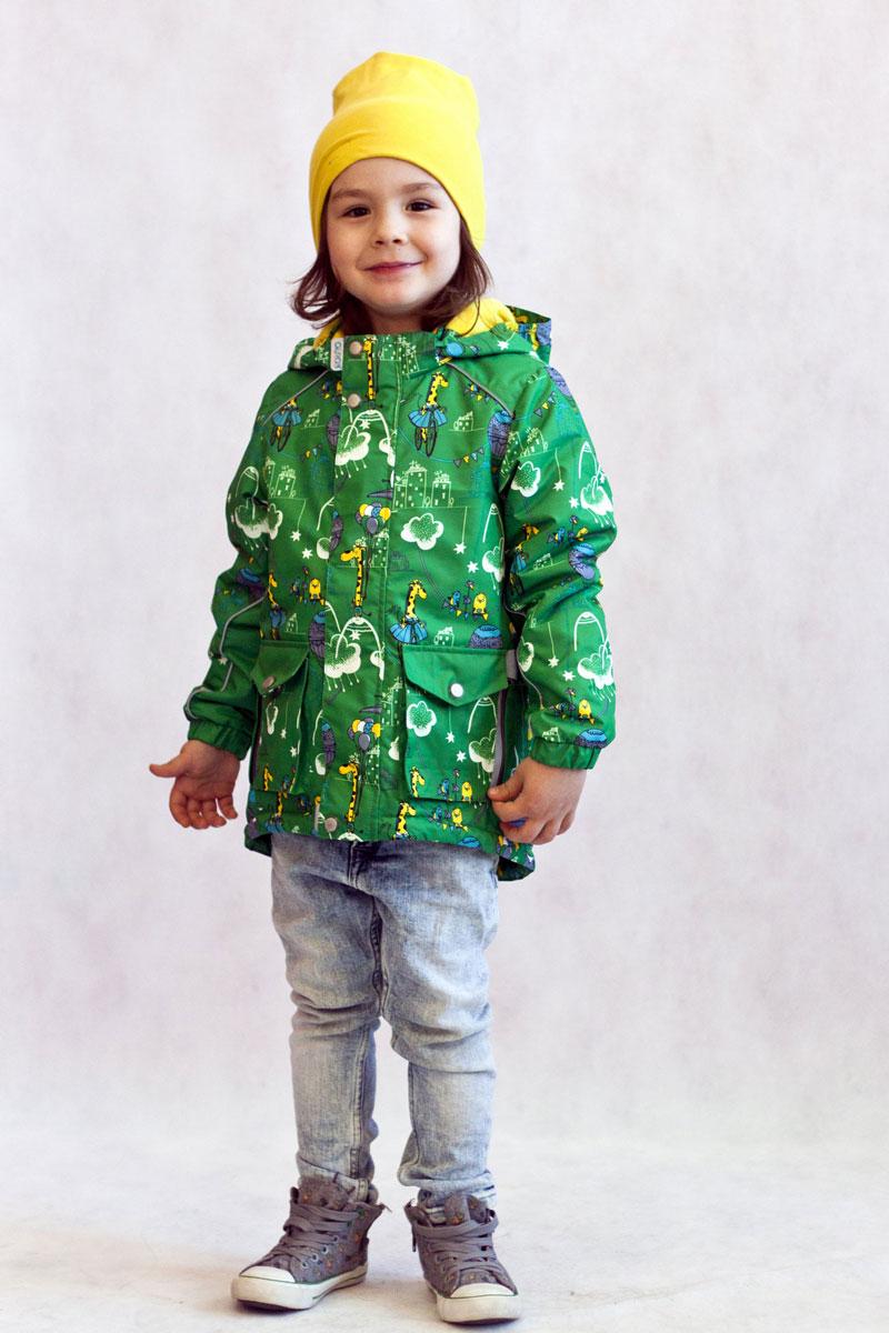Куртка17/OA-2JK516Куртка-парка утепленная для маленьких модников из мембранной коллекции Oldos Active. Верхняя ткань с мембраной 3000/3000 обеспечивает водонепроницаемость, при этом одежда дышит. Покрытие TEFLON повышает износостойкость, а так же облегчает уход за курткой. Утеплитель плотностью 100 г/м2 позволяет носить куртку при температуре от +10 С до -5 С. Флисовая подкладка в области грудки и спинки, а так же внутри капюшона и на воротнике-стойке обеспечивает дополнительное тепло и комфорт, а также помогает мембране отводить излишнюю влагу (пот). Капюшон съемный. Куртка идеально сядет по фигуре благодаря регулируемой утяжке по низу куртки, а так же резинкам на манжетах. В этой модели два типа карманов: накладные карманы с клапаном на кнопке и врезные карманы на молнии. Внутри куртки есть кармашек с нашивкой-потеряшкой, который застегивается на липучку. Куртка оснащена светоотражающими элементами.
