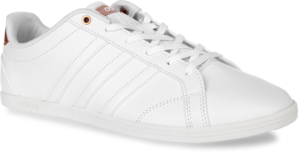 AW4016Кроссовки adidas Neo Coneo Qt W выполнены из натуральной кожи и текстиля. Модель оформлена фирменными нашивками и вязаным рисунком. Шнурки надежно зафиксируют модель на ноге. Внутренняя поверхность из мягкого текстиля комфортна при движении. Стелька выполнена из легкого ЭВА-материала с поверхностью из текстиля. Подошва изготовлена из высококачественной резины и дополнена рельефным рисунком.