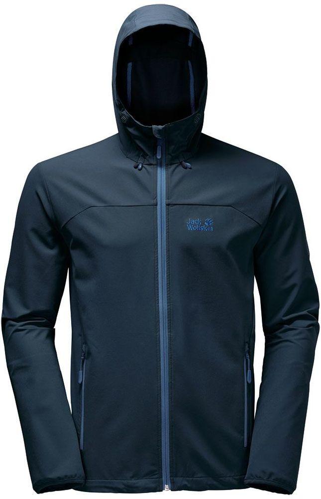 1303661-1033Непродуваемая, особо эластичная и очень хорошо дышащая куртка из материала софтшелл.