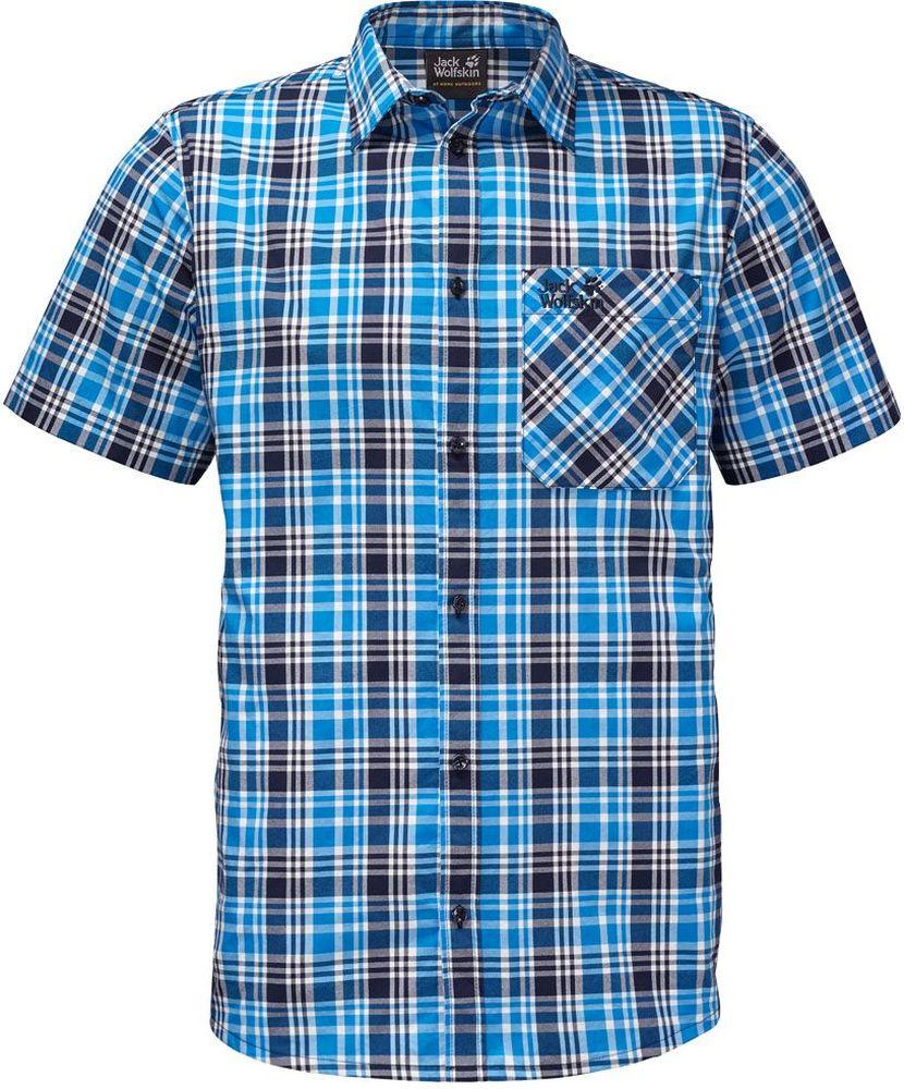 Рубашка1401582-7630Очень легкая и хорошо дышащая рубашка. Ткань активно отводит влагу.