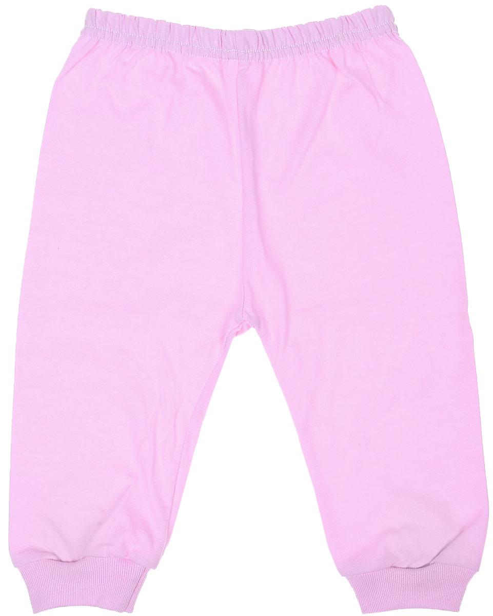 Штанишки5305Детские штанишки Чудесные одежки выполнены из натурального хлопка, благодаря чему великолепно пропускают воздух и обеспечивают комфорт и удобство, не раздражая нежную детскую кожу. Модель стандартной посадки дополнена эластичной резинкой на талии. Брючины оснащены широкими трикотажными манжетами по низу.