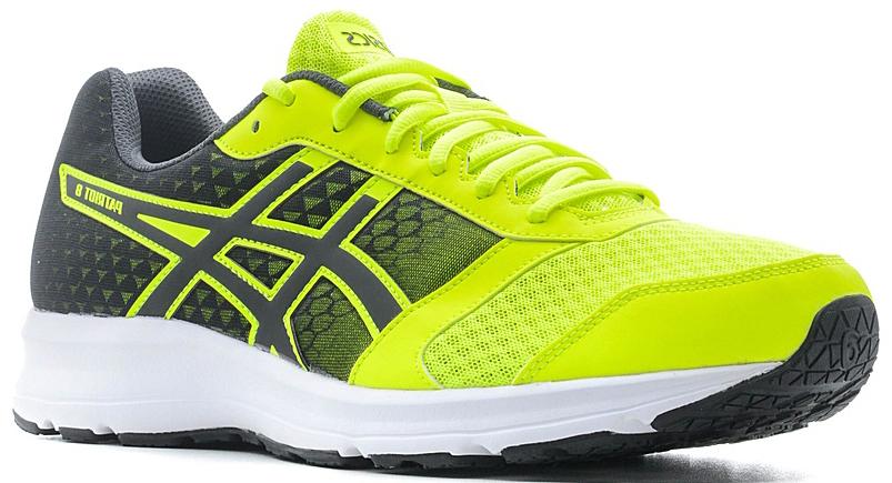T619N-0790PATRIOT 8 — это надежные кроссовки для прогулок и воскресных пробежек. Дышащий сетчатый верх сохранит комфорт в жаркие дни, а средняя подошва с амортизацией и поддерживающий верх помогут установить отличное время.Дышащий сетчатый верх и средняя подошва с амортизацией для быстрых коротких пробежек.Лаконичный дизайн и современный облик.
