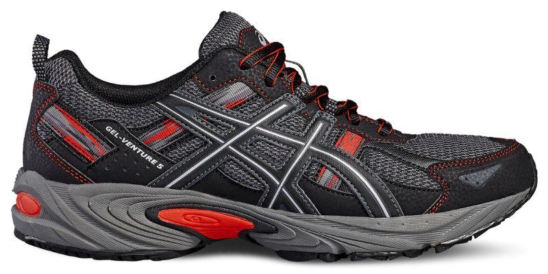 КроссовкиT5N3N-9097Универсальные кроссовки ASICS Gel-Venture зарекомендовали себя как отличные внедорожники и просто универсальные кроссовки. В первую очередь предназначены для бега по пересеченной местности, а также хорошо зарекомендовали себя и при использовании на асфальтовом покрытии. AHAR+ - резина повышенной износостойкости, продлевает срок службы обуви. GEL в пятке, отлично справляется с функцией поглощения ударов и снижения нагрузки на суставы.