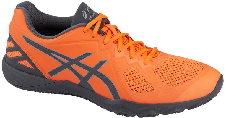КроссовкиS703N-3097Мужские кроссовки для фитнеса Asics Conviction X выполнены из дышащего текстиля со вставками из искусственной кожи. На ноге модель фиксирует шнуровка. Внутренняя поверхность и стелька изготовлены из текстиля. Подошва из комбинации EVA и резины оснащена рельер ным рисунком.