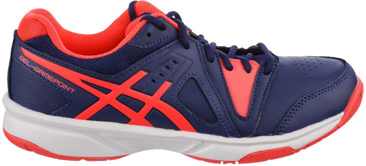 КроссовкиE459L-4920Женские кроссовки для тенниса Asics Gel-Gamepoint выполнены из текстиля и искусственной кожи. Модель с округлым мыском дополнена спереди удобной шнуровкой. Оформлены в контрастном стильном дизайне. Подошва обеспечит прекрасную амортизацию, будет поглощать удары и отправит волну энергии вдоль обуви. Такие кроссовки обеспечат оптимальный баланс эффективности использования энергии и подарят прекрасное настроение и удовлетворение от занятий любимым видом спорта.