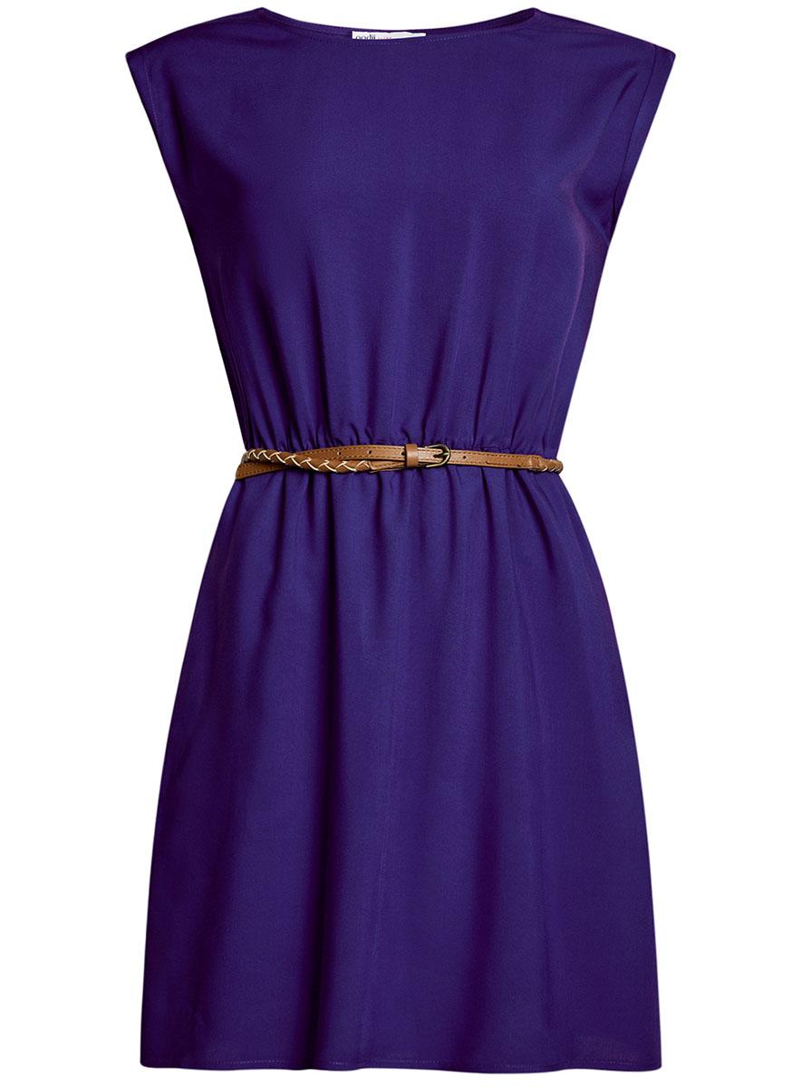 Платье11910073B/26346/7501NПлатье вискозное с поясом