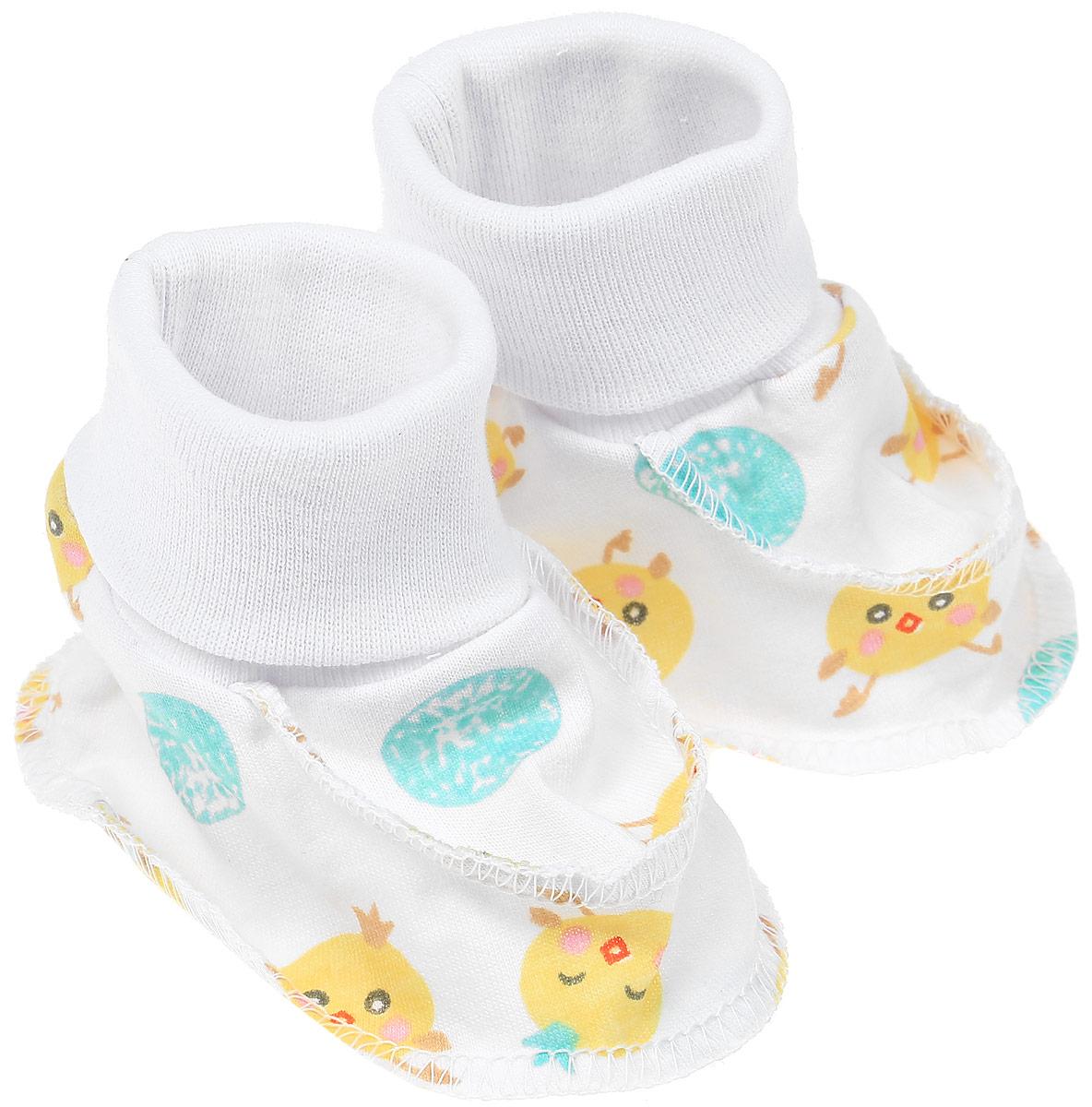 5902Пинетки Чудесные одежки изготовлены из натурального хлопка и не раздражают нежную кожу ребенка. Широкие эластичные резинки не стягивают ножки. Швы в пинетках выполнены на лицевую сторону.