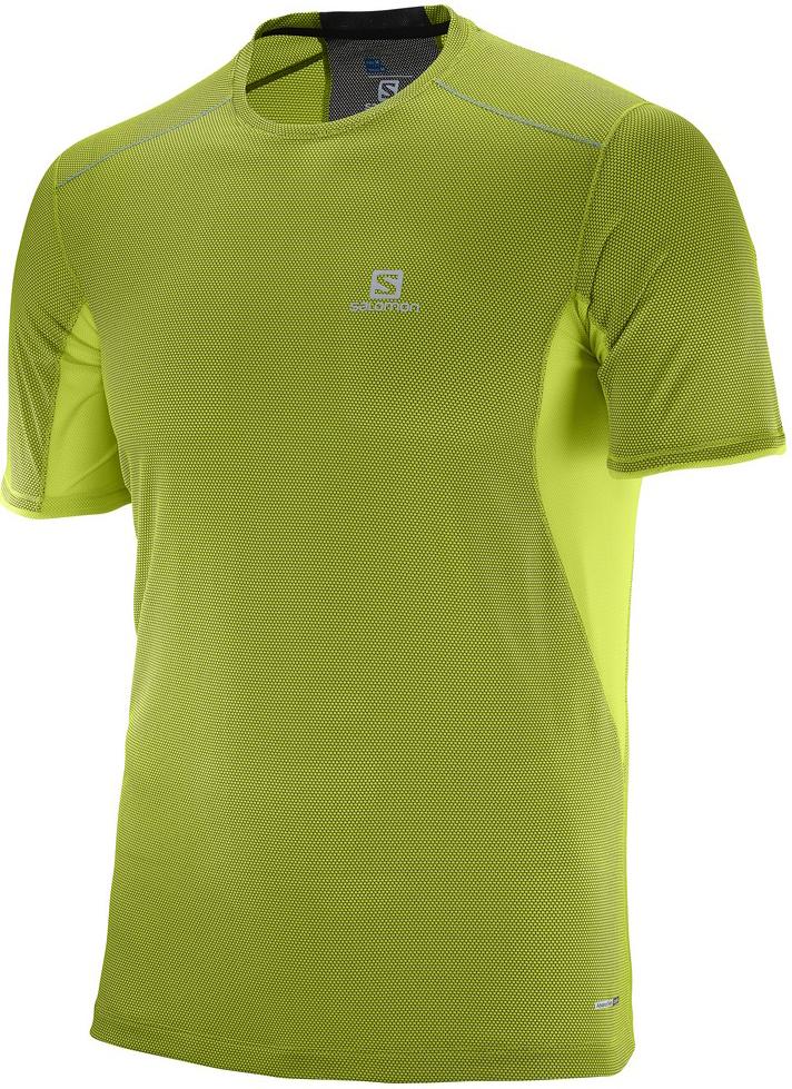 ФутболкаL39259500Легкая дышащая футболка Trail Runner Tee обеспечивает комфорт, а материал с добавлением бамбукового угля предотвращает появление неприятного запаха.