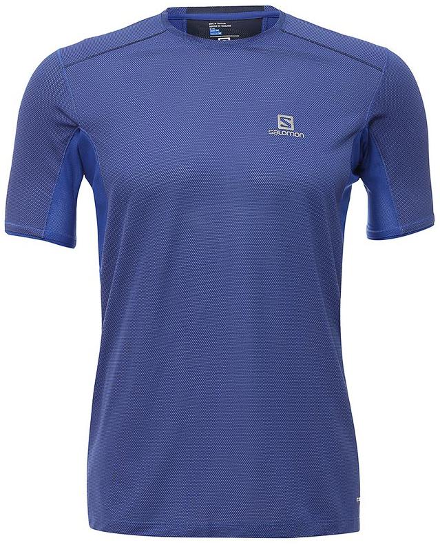 L39385600Легкая дышащая футболка Trail Runner Tee обеспечивает комфорт, а материал с добавлением бамбукового угля предотвращает появление неприятного запаха.