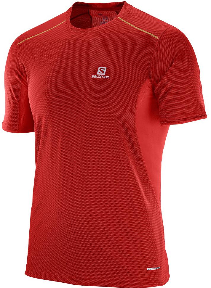 ФутболкаL39385400Легкая дышащая футболка Trail Runner Tee обеспечивает комфорт, а материал с добавлением бамбукового угля предотвращает появление неприятного запаха.