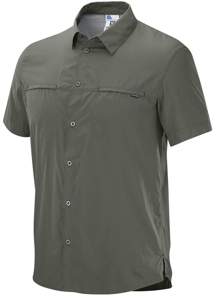 РубашкаL39314800Ультралегкий тканный нейлон, защита от УФ-излучения, вентиляция на спине в зоне лопаток и компактность. Эта мягкая и компактно складывающаяся рубашка просто создана для повседневной носки в жарком климате.