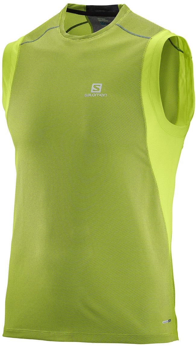 МайкаL39259700Идеально подходит для занятий бегом или хайкинга в жаркую погоду. Мужская футболка Trail Runner Sleeveless Tee обеспечивает полную свободу движений и вентиляцию, прекрасно сидит при надетом рюкзаке.