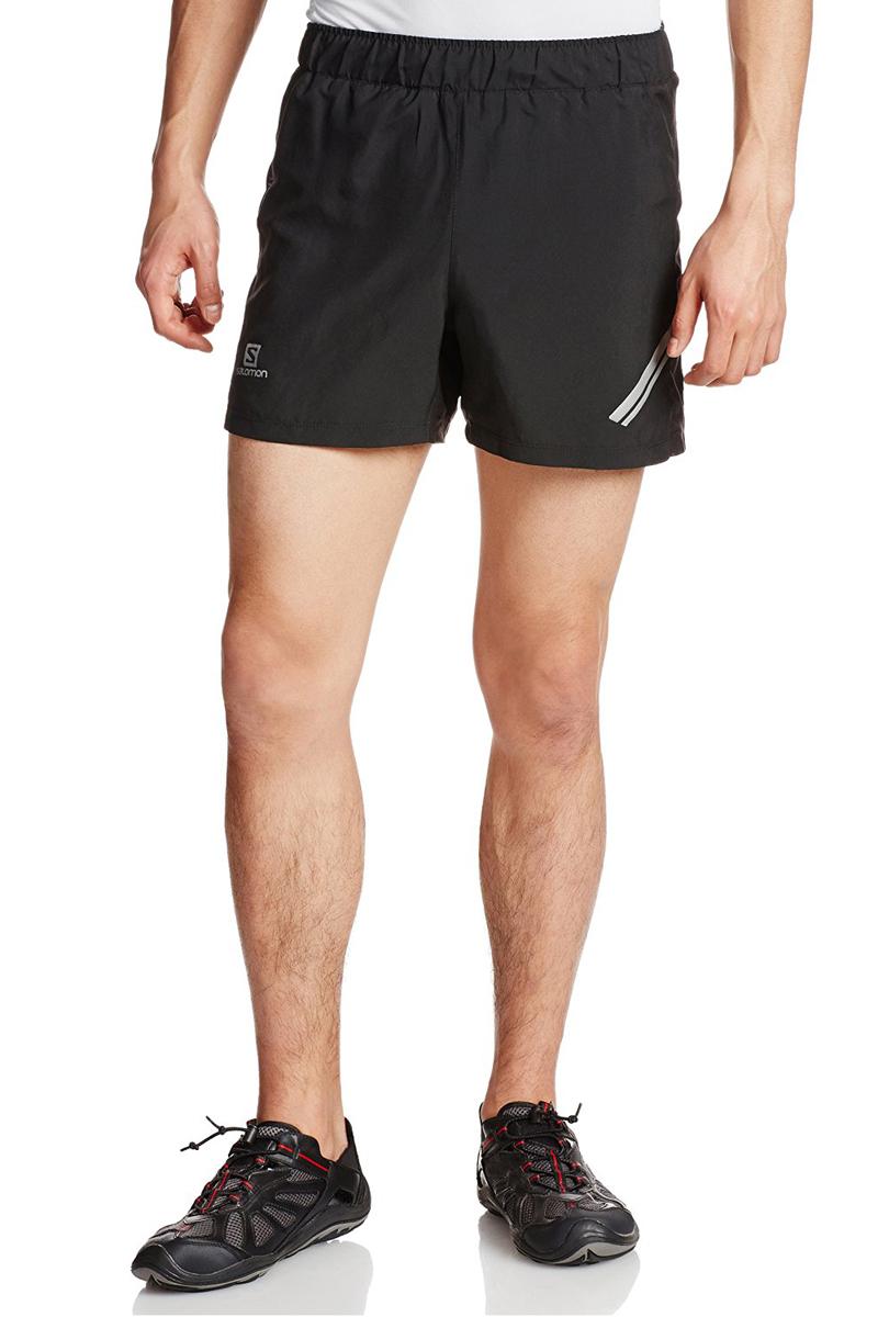 ШортыL37119500Легкие шорты Agile в сдержанном стиле отлично подходят для бега и занятий другими летними видами спорта. На пояснице расположен удобный сетчатый карман на молнии для ключей.