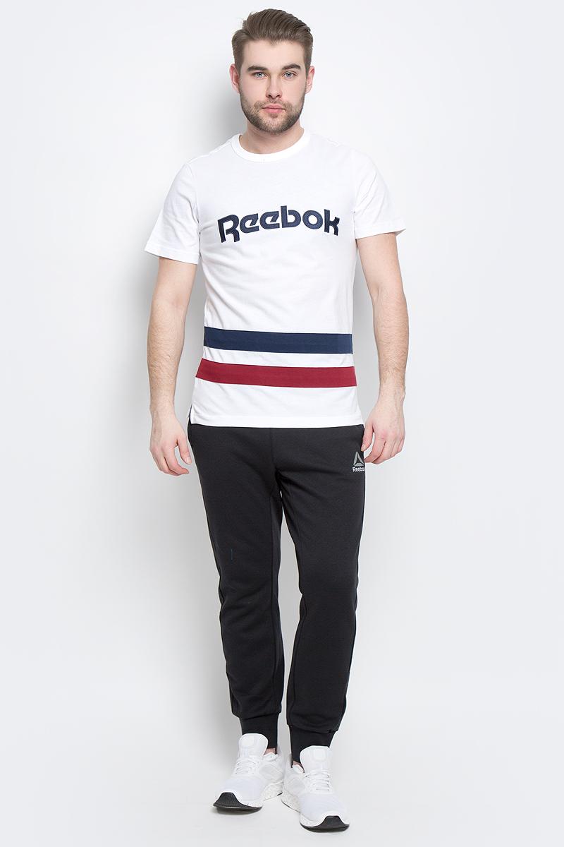 BK3324Мужская футболка Reebok F Striped Tee изготовлена из натурального хлопка. По бокам модели имеются небольшие разрезы. Классическая футболка с контрастными полосами и вышивкой с легендарным логотипом позволит продемонстрировать приверженность бренду и станет незаменимым базовым элементом вашего гардероба.