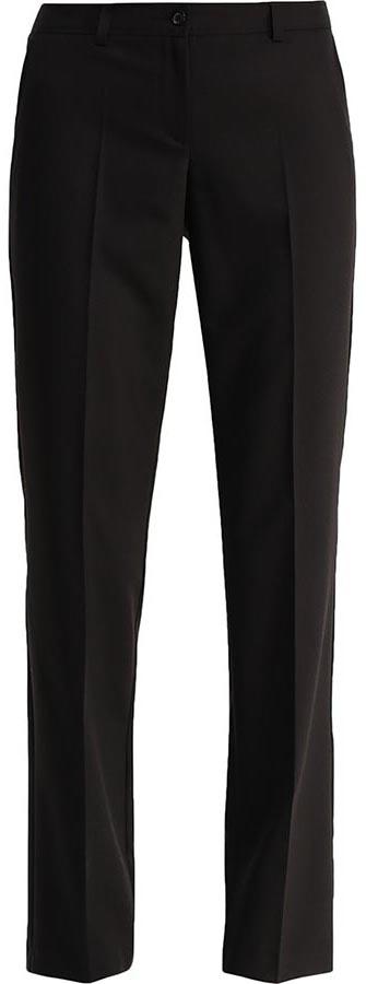 B17-11020Женские брюки Finn Flare изготовлены из полиэстера с добавлением вискозы и эластана. Модель прямого кроя и средней посадки. Изделие застегивается на молнию и пуговицу, пояс дополнен шлевками для ремня. По бокам расположены два втачных кармана, сзади - имитация прорезных карманов.