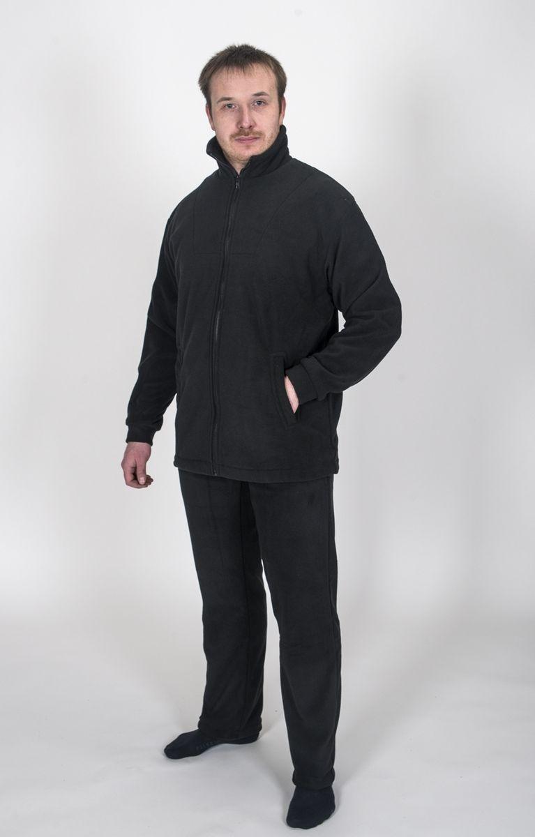 Термобелье комплект (брюки и кофта)КомфортТермокостюм Комфорт - флисовый костюм сочетает в себе преимущества термобелья и спортивного костюма. Можно одевать в качестве термобелья, или в сочетании с ним, под верхнюю одежду, а также использовать как обычные брюки и куртку. Куртка имеет разъемную молнию, высокий воротник и два глубоких кармана. Брюки также имеют два кармана и пояс на широкой резинке. Низ куртки и брюк регулируется при помощи резинки и стопперов. Термокостюм изготавливается из ткани Polar fleece плотностью 300 гр\м2. Polar fleece это: трикотажная ткань с двухсторонним ворсом: особо износоусточивым с наружной стороны - Polar и очень мягким и комфортным с внутренней - fleece. Лучший современный заменитель шерсти, дышащий и не вызывающий аллергии. Основные достоинства и преимущества: высокоэффективная теплозащита; мягкость и комфорт при прикосновении; отлично впитывает влагу и не холодит тело при намокании, как одежда из хлопка; быстро высыхает после намокания - быстрее , чем хлопок или...