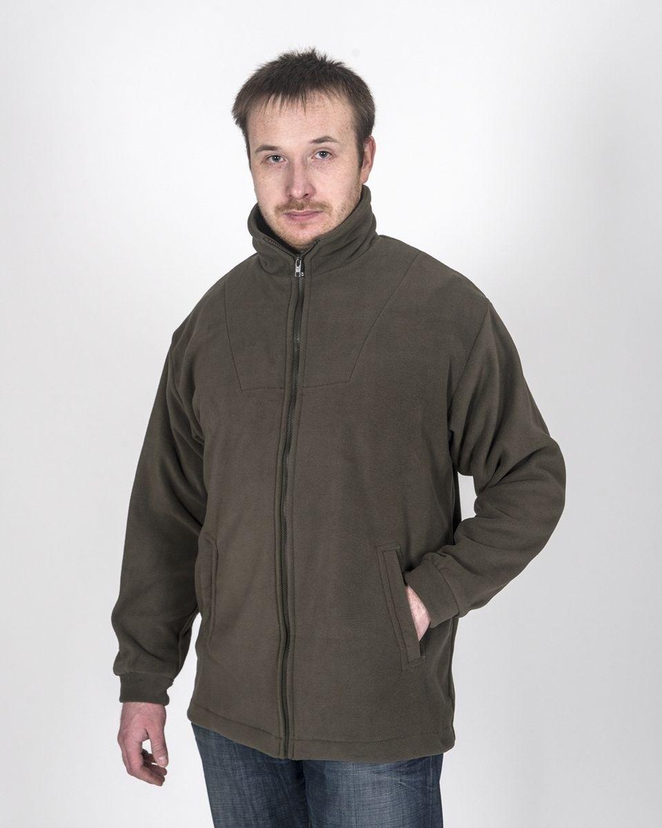 КомфортФлисовая куртка Комфорт отлично заменит шерстяной свитер или кофту. Имеет разъемную молнию , высокий воротник и два глубоких кармана. Низ куртки регулируется при помощи резинки и стопора. Изготавливается из ткани Polar fleece плотностью 300 гр\м2. Polar fleece это: 1. Трикотажная ткань с двухсторонним ворсом: - особо износоусточивым с наружной стороны - Polar - очень мягким и комфортным с внутренней - fleece 2. Лучший современный заменитель шерсти, дышащий и не вызывающий аллергии. Основные достоинства и преимущества: - Высокоэффективная теплозащита; - Мягкость и комфорт при прикосновении; - Отлично впитывает влагу и не холодит тело при намокании, как одежда из хлопка; - Быстро высыхает после намокания – быстрее , чем хлопок или шерсть; - Не обладает усадкой после стирки; - Не растягивается и не теряет форму в процессе эксплуатации.