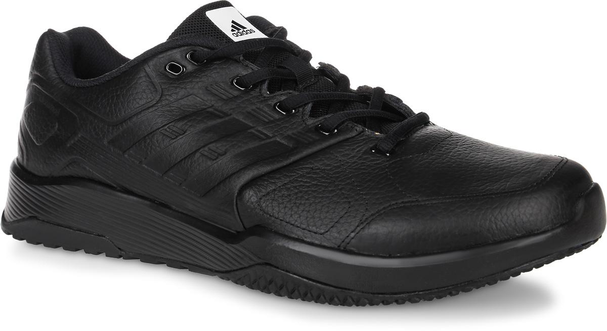 КроссовкиBB1754Мужские кроссовки для фитнеса adidas Duramo 8 Leather выполнены из натуральной кожи и оформлены фирменным тиснением. Шнурки надежно зафиксируют модель на ноге. Внутренняя поверхность из сетчатого текстиля комфортна при движении. Внутренняя поверхность из сетчатого текстиля комфортна при движении. Стелька выполнена из легкого ЭВА-материала с поверхностью из текстиля. Подошва изготовлена из высококачественной резины и дополнена рельефным рисунком.