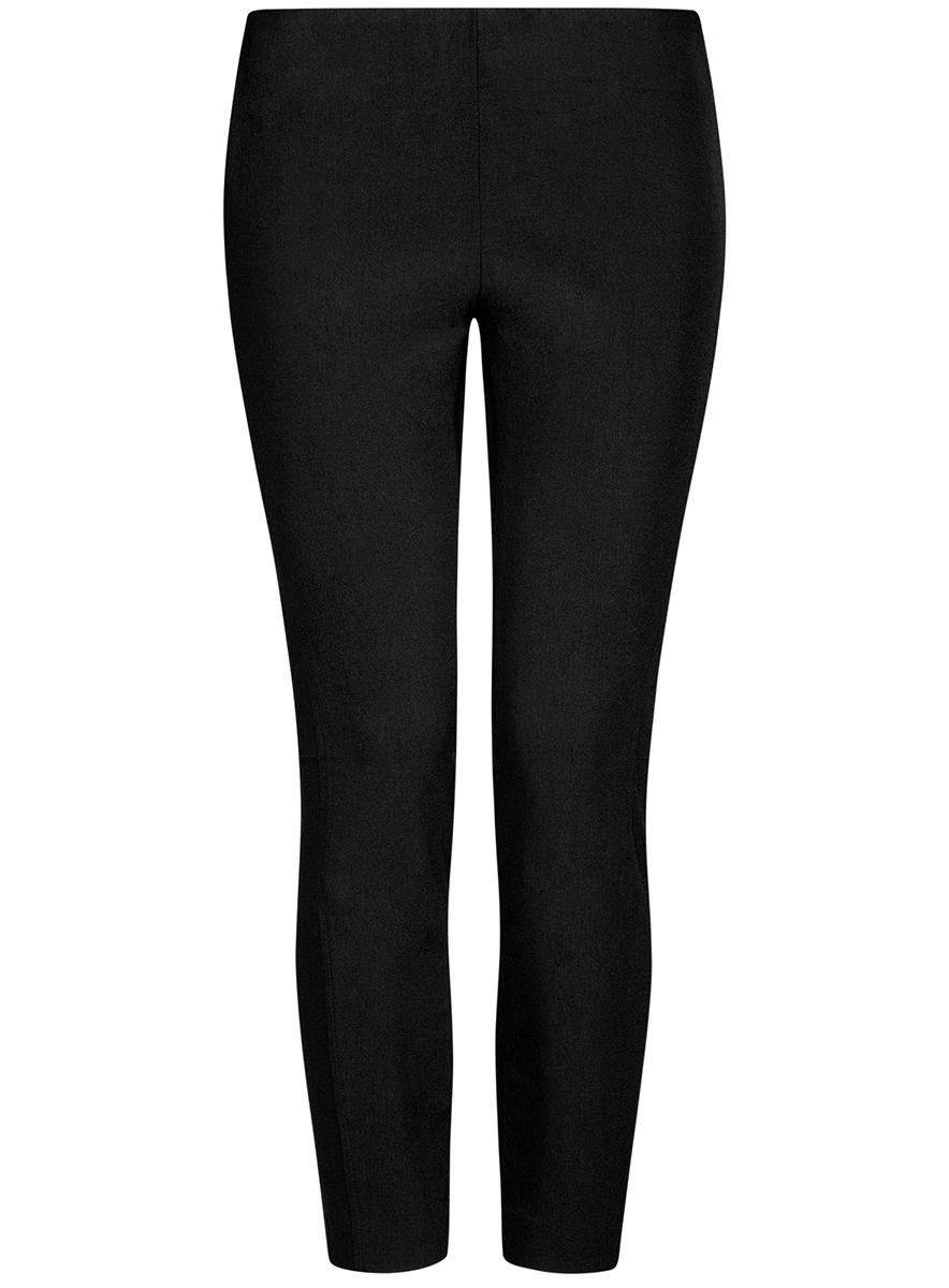 Брюки11707116/14007/2900NЖенские укороченные брюки oodji Ultra выполнены из высококачественного материала. Облегающая модель стандартной посадки.
