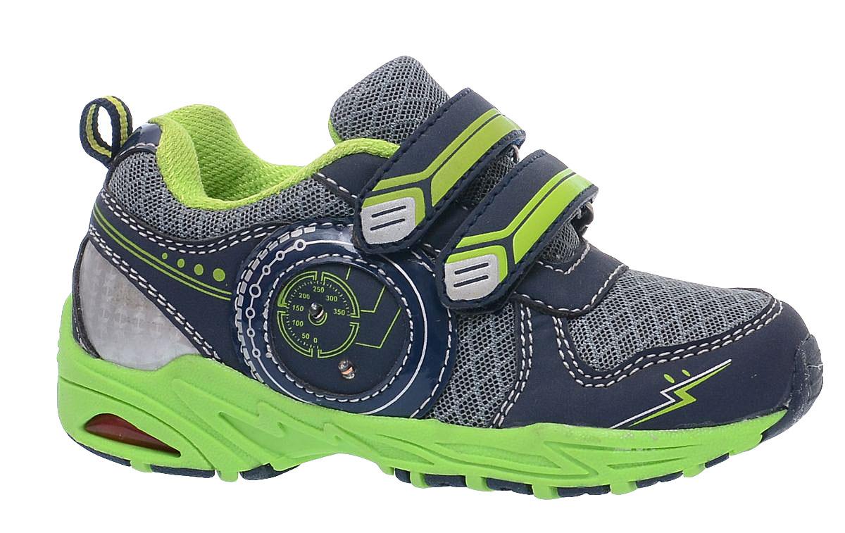 КроссовкиA-B80-41-CКроссовки от фирмы BiKi выполнены из искусственной кожи и текстиля. По бокам модель оформлена нашивками с рисунком. На заднике предусмотрена текстильная петелька для удобства обувания. Застежки-липучки обеспечивают надежную фиксацию обуви на ноге ребенка. Подкладка выполнена из текстиля и натуральной кожи, что предотвращает натирание и гарантирует уют. Подошва с рифлением обеспечивает идеальное сцепление с любыми поверхностями. Стильные и удобные кроссовки - незаменимая вещь в гардеробе каждого школьника.