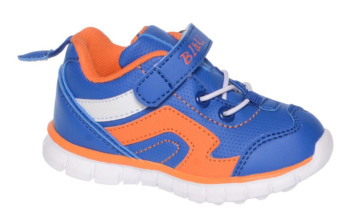 КроссовкиA-B82-54-AКроссовки от фирмы BiKi выполнены из искусственной кожи с контрастной прострочкой. На заднике предусмотрена текстильная петелька для удобства обувания. Застежка-липучка и эластичная шнуровка обеспечивают надежную фиксацию обуви на ноге ребенка. Подкладка выполнена из текстиля и натуральной кожи, что предотвращает натирание и гарантирует уют. Подошва с рифлением обеспечивает идеальное сцепление с любыми поверхностями. Стильные и удобные кроссовки - незаменимая вещь в гардеробе каждого школьника.