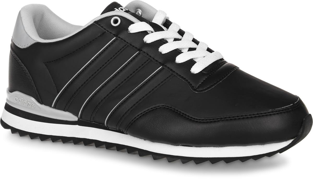 КроссовкиAW4073Мужские кроссовки adidas Neo Jogger Cl, выполненные из искусственной кожи, оформлены фирменными нашивками и надписями. Шнурки надежно зафиксируют модель на ноге. Внутренняя поверхность из сетчатого текстиля комфортна при движении. Стелька выполнена из легкого ЭВА- материала с поверхностью из текстиля. Подошва изготовлена из высококачественной резины и дополнена рельефным рисунком.