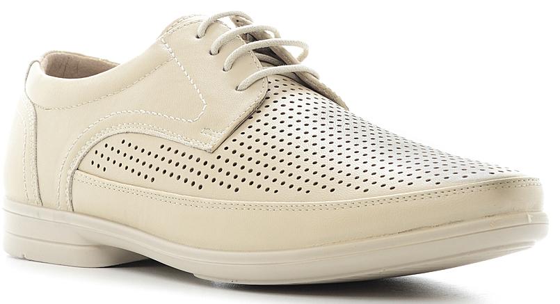 Туфли844012Элегантные мужские туфли от Marko отлично дополнят ваш деловой образ. Модель выполнена из высококачественной синтетической кожи, оформлена декоративным внешним швом и перфорацией. Классическая шнуровка на подъеме обеспечит оптимальную посадку модели на ноге. Кожаная стелька с супинатором обеспечивает максимальный комфорт при движении. Умеренной высоты каблук и подошва с рифлением обеспечивают отличное сцепление с поверхностью.