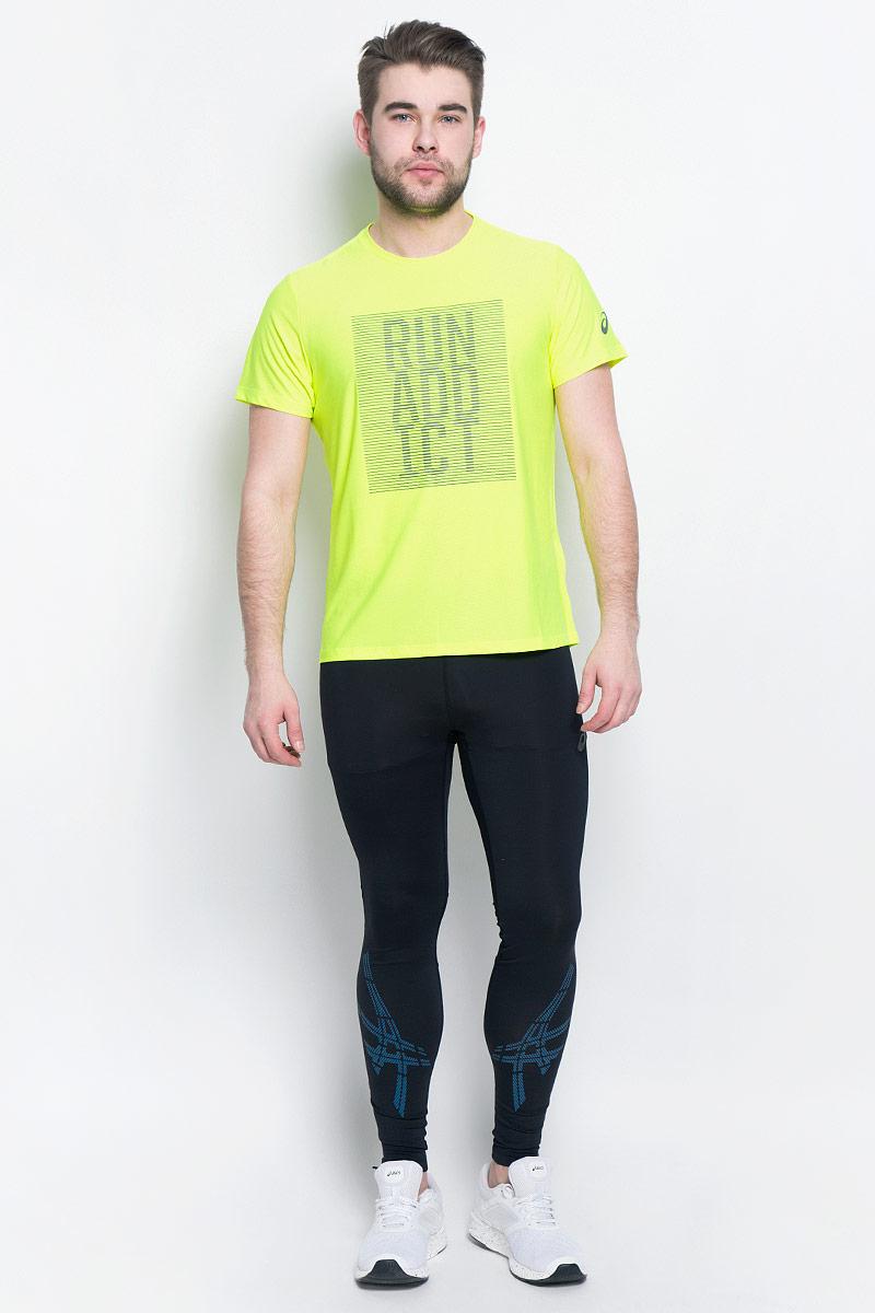 134085-0392Мужская футболка для бега Asics Graphic SS Top, выполненная из высококачественного полиэстера с применением технологии Motion Dry, обладает высокой воздухопроницаемостью, а также превосходно отводит влагу от тела, оставляя кожу сухой даже во время интенсивных тренировок. Такая футболка великолепно подойдет как для повседневной носки, так и для спортивных занятий. Комфортные плоские швы исключают риск натирания и раздражения. Модель с короткими рукавами и круглым вырезом горловины - идеальный вариант для создания модного спортивного образа. Футболка оригинальной надписью на груди.