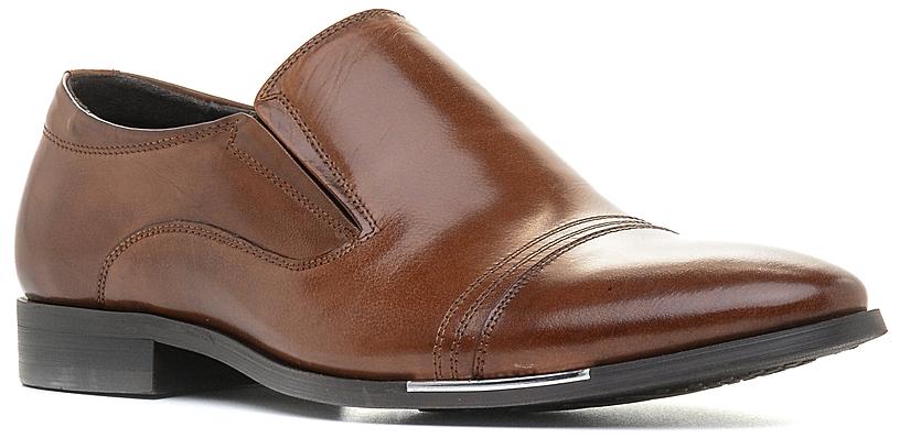 Туфли727083Элегантные мужские туфли отлично дополнят ваш деловой образ. Модель выполнена из высококачественной натуральной кожи. Резинки, расположенные на подъеме, обеспечивают оптимальную посадку модели на ноге. Кожаная стелька с супинатором обеспечивает максимальный комфорт при движении. Умеренной высоты каблук и подошва с рифлением обеспечивают отличное сцепление с поверхностью.