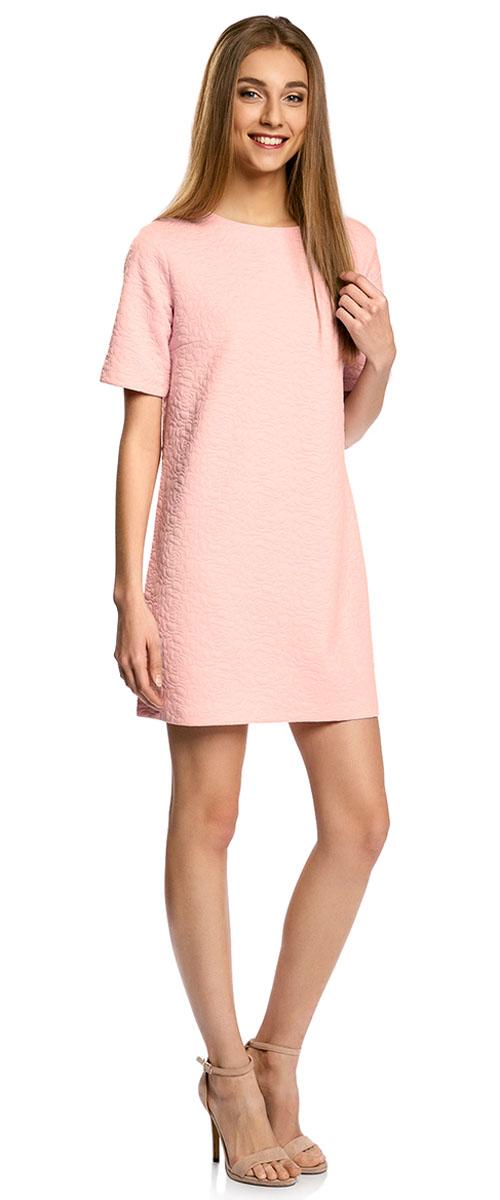 Платье24001110-3/42316/3000NПлатье из фактурной ткани прямого силуэта