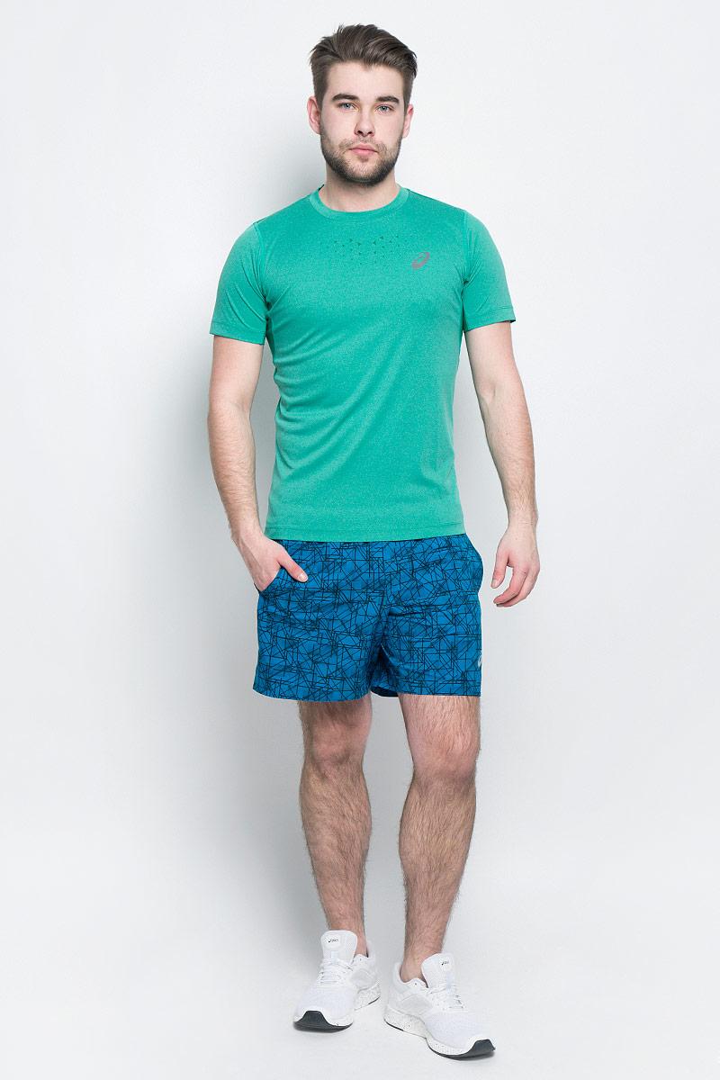 141198-0773Мужская футболка Asics выполнена из эластичного полиэстера. У модели классический круглый ворот и короткие стандартные рукава. Изделие оформлено дышащими вставками и дополнено светоотражающими деталями. Технология Motion Dry позволяет выводить влагу, оставляя тело сухим и сохраняя его оптимальный температурный режим.