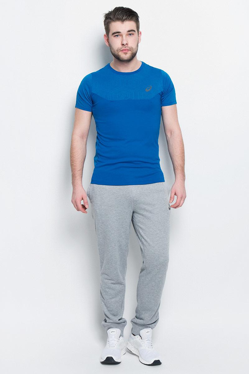 141623-0779Мужская футболка Asics выполнена из полиэстера. У модели классический круглый ворот и короткие стандартные рукава. Изделие оформлено дышащими вставками. Технология Motion Dry позволяет выводить влагу, оставляя тело сухим и сохраняя его оптимальный температурный режим.