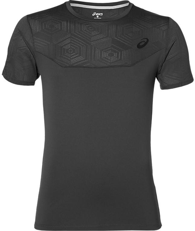 Футболка141623-0779Мужская футболка Asics выполнена из полиэстера. У модели классический круглый ворот и короткие стандартные рукава. Изделие оформлено дышащими вставками. Технология Motion Dry позволяет выводить влагу, оставляя тело сухим и сохраняя его оптимальный температурный режим.