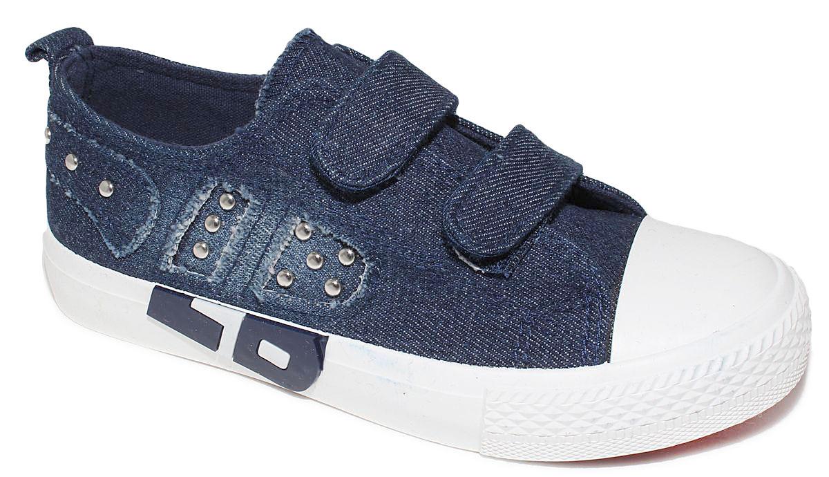 КедыD5854Кеды для мальчика Капитошка очаруют вашего ребенка с первого взгляда! Модель выполнена из текстиля. Внутренняя поверхность из текстиля. Подошва с рифлением обеспечивает идеальное сцепление с любой поверхностью. Ремешки на застежках-липучках, обеспечивают надежную фиксацию обуви на ноге. Эффектные кеды приведут в восторг вашего ребенка!