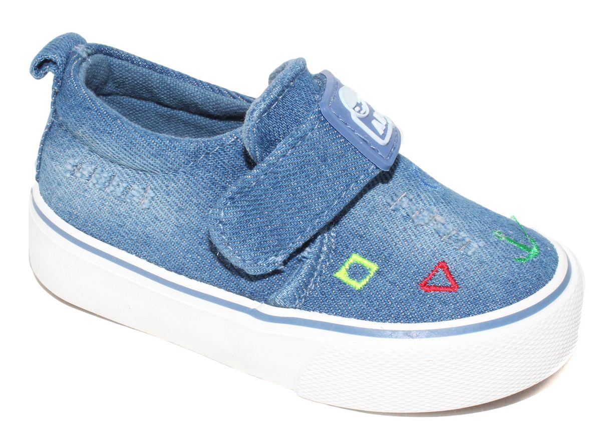 КедыD5857Кеды для мальчика Капитошка очаруют вашего ребенка с первого взгляда! Модель выполнена из текстиля. Внутренняя поверхность из текстиля. Подошва с рифлением обеспечивает идеальное сцепление с любой поверхностью. Ремешок на застежке-липучке, обеспечивает надежную фиксацию обуви на ноге. Эффектные кеды приведут в восторг вашего ребенка!