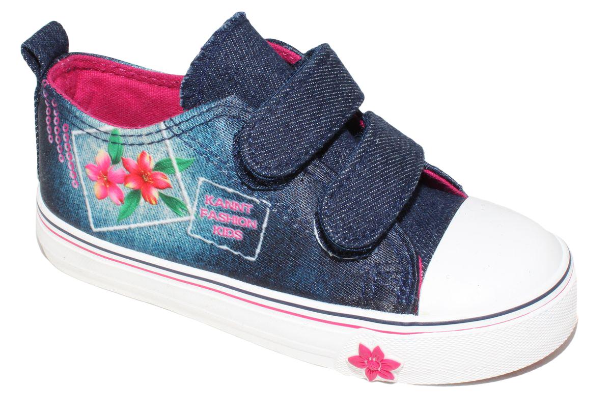 КедыD5864Кеды для девочки Капитошка очаруют вашего ребенка с первого взгляда! Модель выполнена из текстиля. Внутренняя поверхность из текстиля. Подошва с рифлением обеспечивает идеальное сцепление с любой поверхностью. Ремешки на застежках-липучках, обеспечивают надежную фиксацию обуви на ноге. Эффектные кеды приведут в восторг вашего ребенка!
