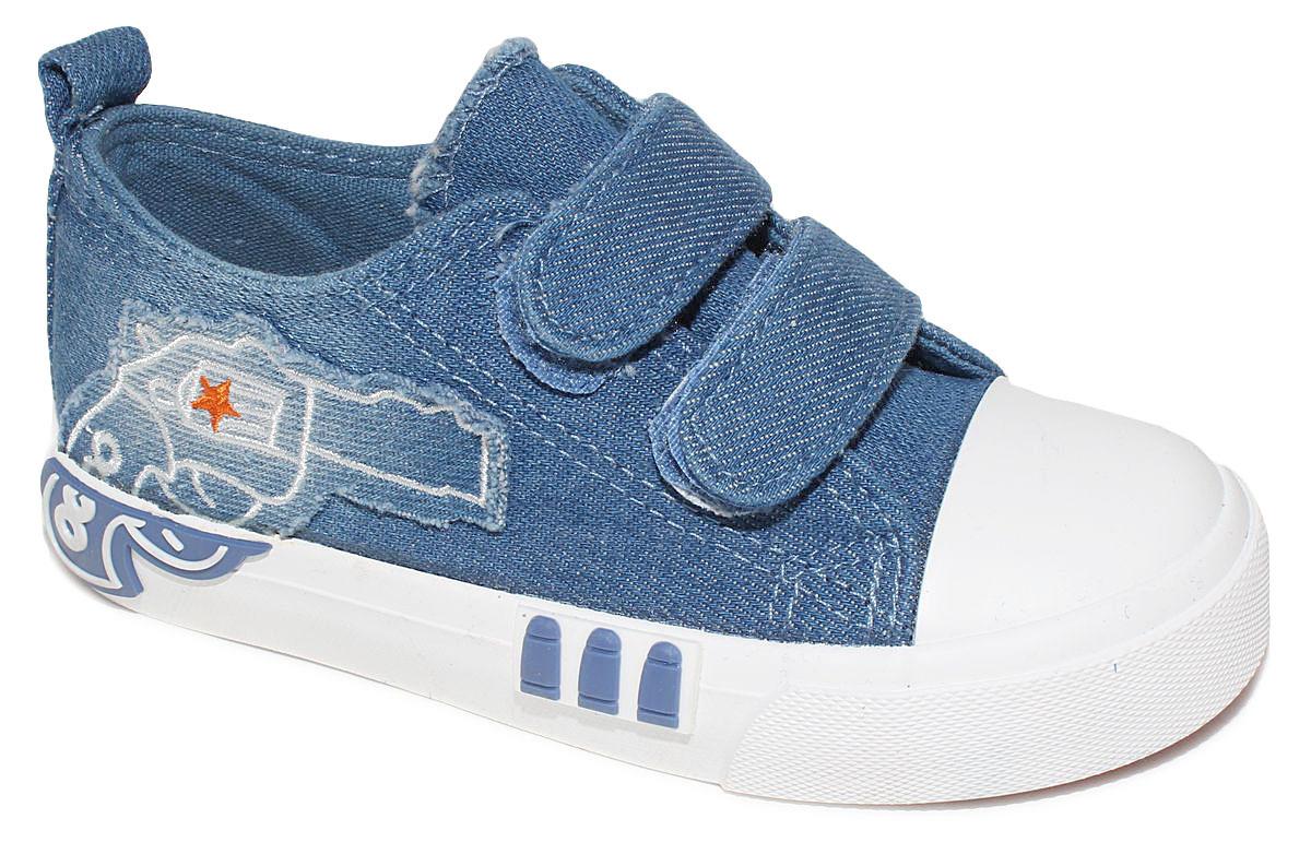 КедыD5865Кеды для мальчика Капитошка очаруют вашего ребенка с первого взгляда! Модель выполнена из текстиля. Внутренняя поверхность из текстиля. Подошва с рифлением обеспечивает идеальное сцепление с любой поверхностью. Ремешки на застежках-липучках, обеспечивают надежную фиксацию обуви на ноге. Эффектные кеды приведут в восторг вашего ребенка!