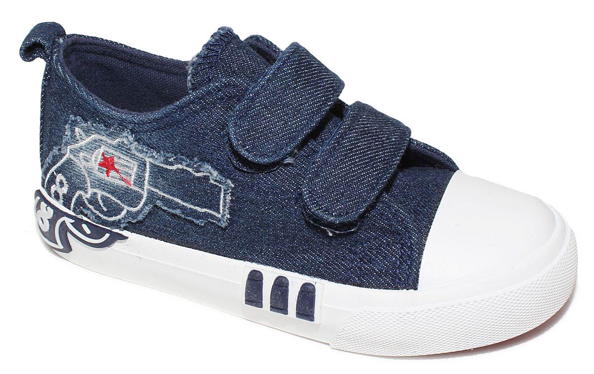 КедыD5866Кеды для мальчика Капитошка очаруют вашего ребенка с первого взгляда! Модель выполнена из текстиля. Внутренняя поверхность из текстиля. Подошва с рифлением обеспечивает идеальное сцепление с любой поверхностью. Ремешки на застежках-липучках, обеспечивают надежную фиксацию обуви на ноге Эффектные кеды приведут в восторг вашего ребенка!
